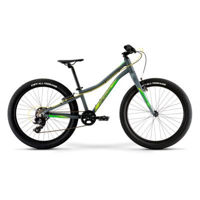 Велосипед Merida Matts J24+ Eco ''21 MattCollGrey/Green/Yellow