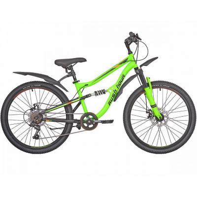 Велосипед RUSH HOUR FS 475 Disc ST 14'' 6ск зеленый