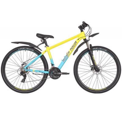 Велосипед RUSH HOUR XS 725 Disc AL 18'' 21ск желтый