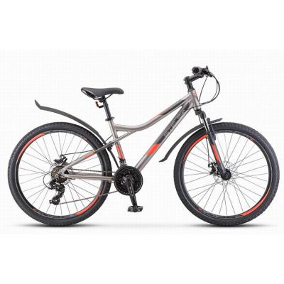 Велосипед Stels Navigator-610 МD 16 серый/красный арт.V040 (510)