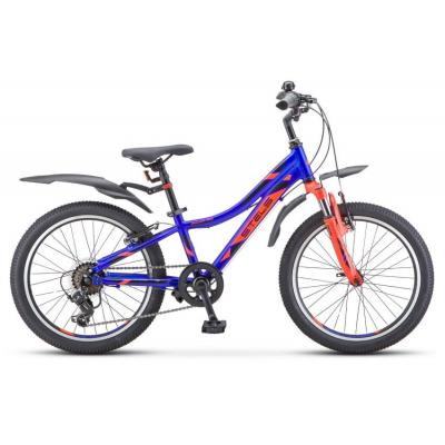 Велосипед Stels Pilot-260 Gent 10 синий/красный арт.V010