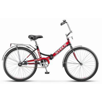Велосипед Stels Pilot-710 16 артZ010 черный/красный
