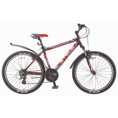 Велосипед Stels Navigator-630 V 21,5 черный/серебр/красный арт V010