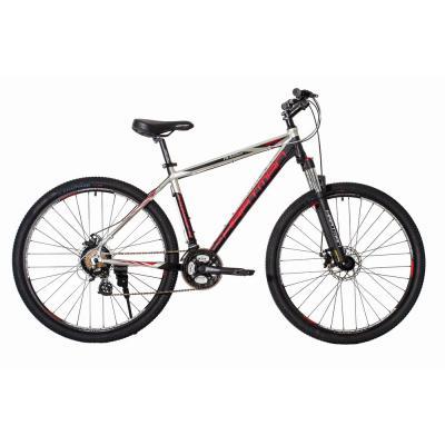 Велосипед HARTMAN Ingword Pro Disk 19'' 21ск. алюм, серебр/черный/красный(2021)