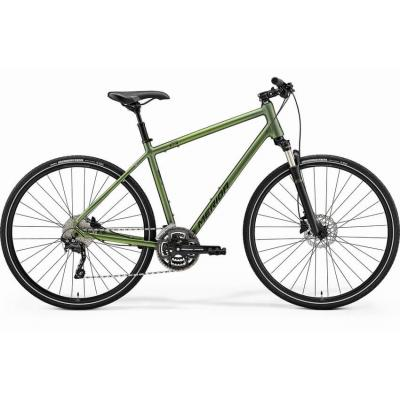 Велосипед Merida Crossway 300 47cm S '21 MattFogGreen/DarkGreen