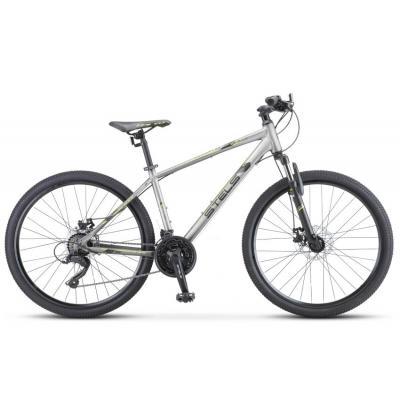 Велосипед Stels Navigator-590 V 16 серый/зеленый арт.К010
