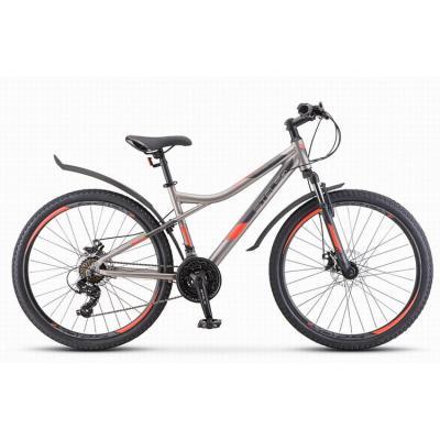 Велосипед Stels Navigator-610 МD 14 серый/красный арт.V040 (510)