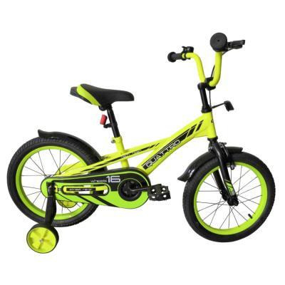 Велосипед TechTeam Quattro 18' неоновый зеленый (сталь)