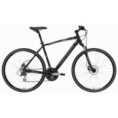 Велосипед Merida Crossway 20-D 46cm S '20 Silk Titan/Black/Grey (700C)
