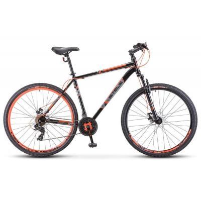 Велосипед Stels Navigator-700 MD 17,5 черный/красный артF020 (2022)