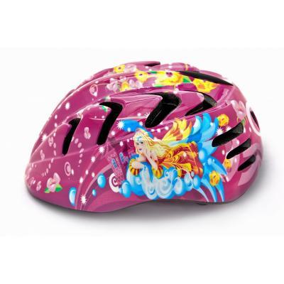 Шлем детский М(52-56) VSH 7 розовый-принцесса