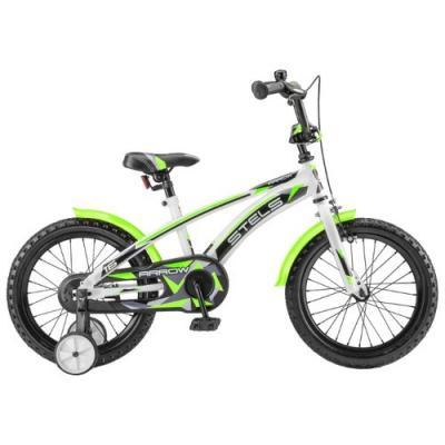 Велосипед STELS Arrow 9,5 белый/зеленый арт. V020