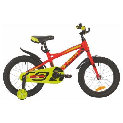 Велосипед NOVATRACK 16'',TORNADO, алюм. красный