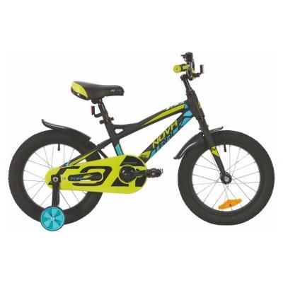 Велосипед NOVATRACK 16'',TORNADO, алюм. черный