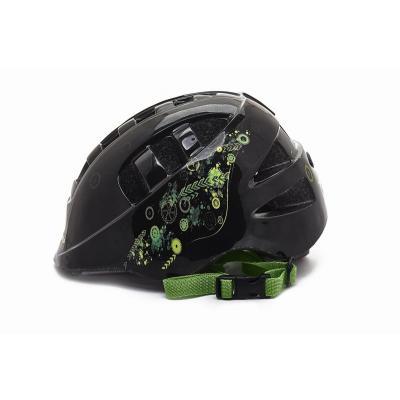 Шлем детский S(48-52) VSH 8 черный-робокоп