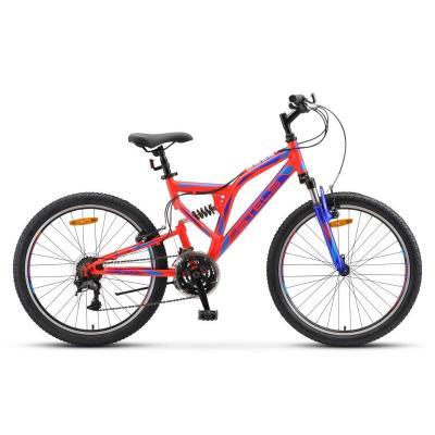 Велосипед Stels Mustang V 16  неоновый-красный арт.V020