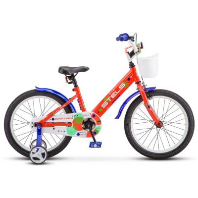 Велосипед STELS Captain 10 неоновый-красный артV010
