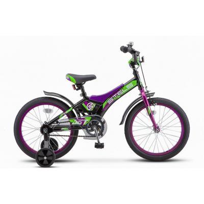 Велосипед STELS Jet 10 черный/зеленый арт.Z010 (2021)