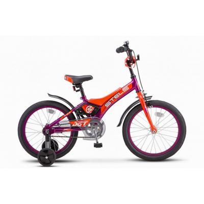 Велосипед STELS Jet 10 фиолетовый/оранжевый арт.Z010 (2021)