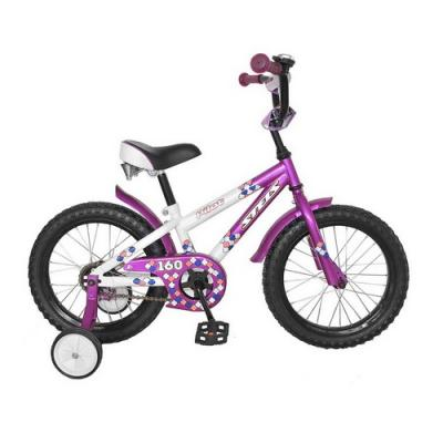 Велосипед STELS Pilot-160 8,5 пурпурный/белый