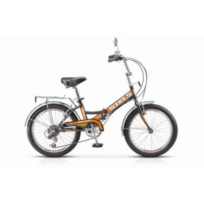 Велосипед Stels Pilot-350 13 арт.Z010 черный/оранжевый