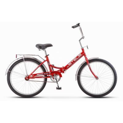 Велосипед Stels Pilot-710 16 артZ010 белый/синий