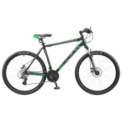 Велосипед Stels Navigator-500 MD 20'' черный/зеленый V020
