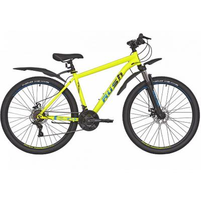 Велосипед RUSH HOUR RX 705 Disc ST 16'' 21ск желтый