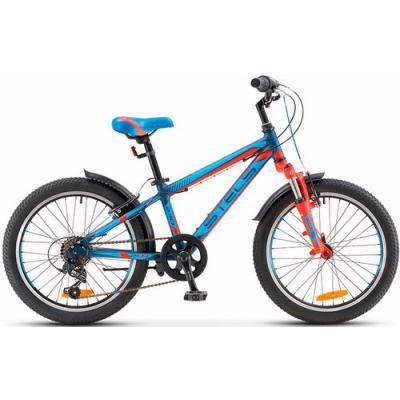 Велосипед Stels Pilot-250 Gent 11'' неон-зеленый/неон-красный V010