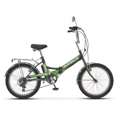 Велосипед Stels Pilot-450 13,5 арт.Z011 черный/зелёный
