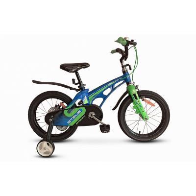 Велосипед STELS Galaxy Pro синий/зеленый арт.V010