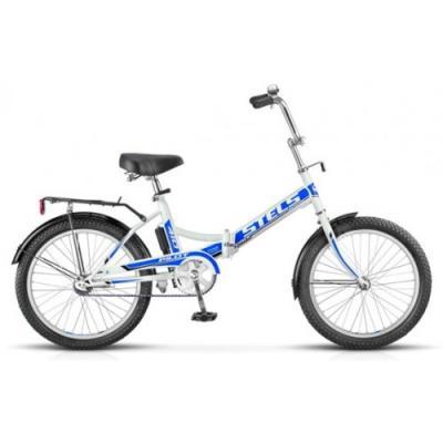 Велосипед Stels Pilot-410 13,5 арт.Z010 белый/синий