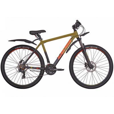 Велосипед RUSH HOUR XS 930 HDisc AL 21'' 21ск хаки