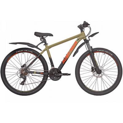 Велосипед RUSH HOUR XS 725 Disc AL 18'' 21ск хаки