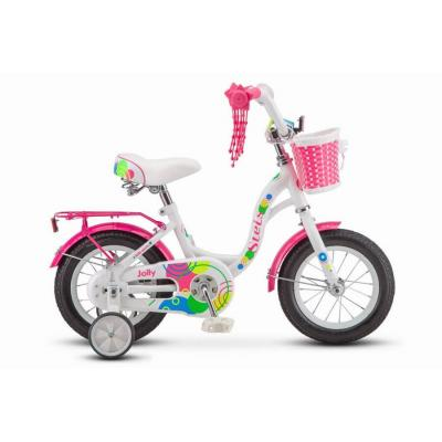 Велосипед STELS Jolly 8 белый/розовый арт.V010