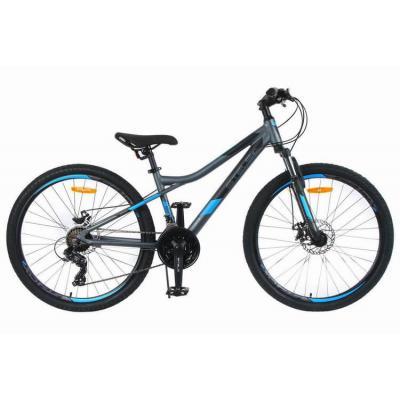 Велосипед Stels Navigator-610 МD 16 антрацитовый/синий арт.V040 (510)