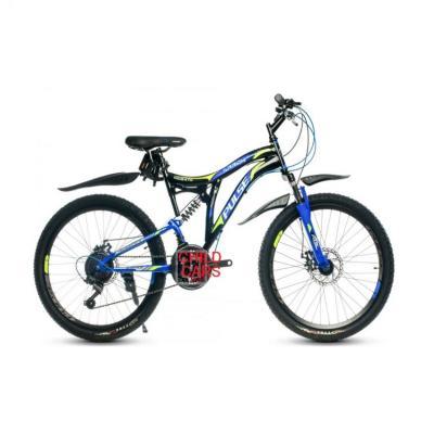 Велосипед PULSE MD2670 черный/синий/зеленый