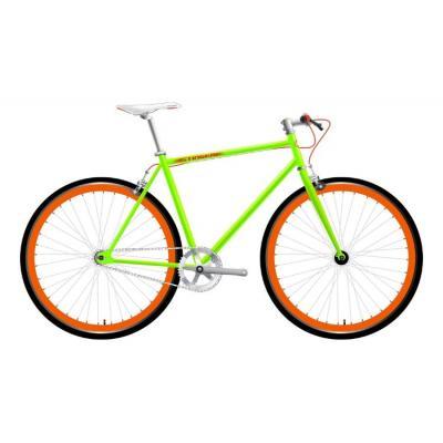 Велосипед Stinger Fix Green 17.5 зеленый, сталь