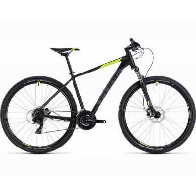 Велосипед CUBE AIM PRO 29 black'n'flashyellow 19'' 19