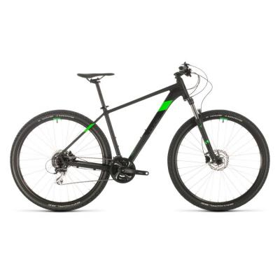 Велосипед CUBE AIM RACE 29 black'n'flashgreen 23'' 20